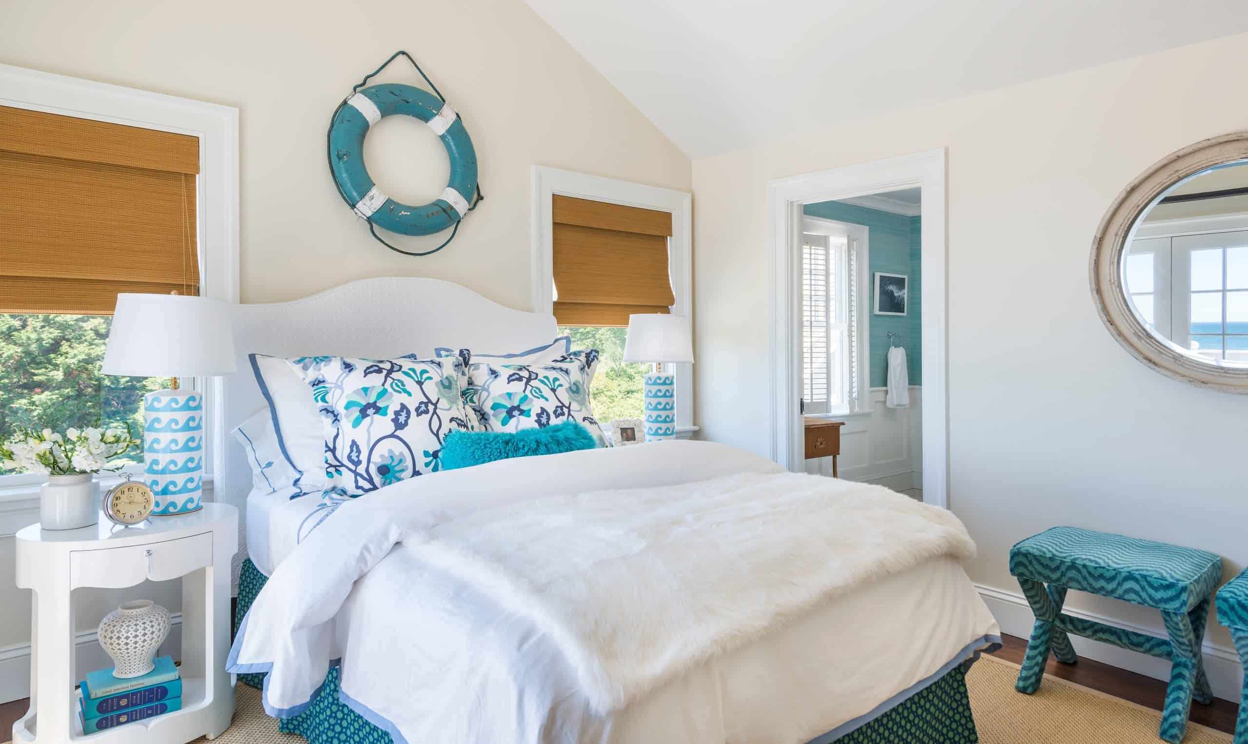 Coastal decor paint palettes for Lake Cowichan vacation properties for sale